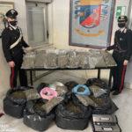 Lamezia: carabinieri arrestano coppia coniugi trovati con 54 kg di marijuana