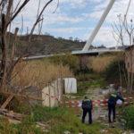 Cosenza: polizia provinciale area adibita a discarica