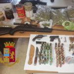 Bisignano: arrestato un giovane trovato in possesso di droga e armi