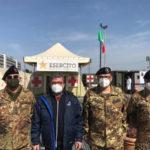 Vaccini, Spirlì al Presidio della Difesa di Cosenza: «Insieme per tutelare i cittadini»