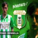 Calcio: la Vigor Lamezia ingaggia Antonio Mennella