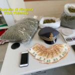 Vibo Valentia: sequestro di 2 kg di marijuana, 1 arresto