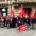Manifestazione unitaria di Cgil, Cisl e Uil dell'Area vasta Vibo-Catanzaro-Crotone