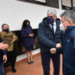 Covid, Spirlì al centro vaccinale di Reggio: «Grande aiuto da ministeri»