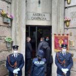 La PoliziadiStato ha commemorato Andrea Campagna, vittima del terrorismo