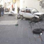 Incidenti stradali: grave 84enne investito da auto a Cassano