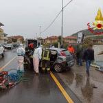 Incidenti stradali, scontro tra auto sulla statale 534 feriti