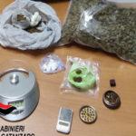 Un arresto per detenzione ai fini di spaccio di sostanze stupefacenti