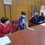 """Consiglio bambini Istituto """"Perri-Pitagora"""" incontra commissario Comune Lamezia"""