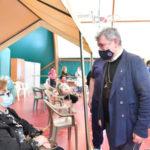 Vaccinazioni, Spirlì al centro di Paola: «Grandi risultati»