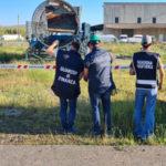 Sequestrata discarica abusiva in area industriale, 2 denunce