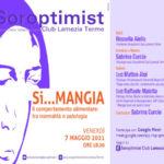 Oggi il webir sul comportamento alimentare promosso dal Soroptimist di Lamezia