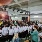 Epica esibizione delle orchestre indirizzo musicale Istituto  Perri Pitagora