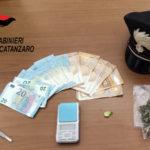 Contrasto agli stupefacenti: un arresto a Borgia