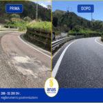 Anas:terminati i lavori di pavimentazione della SS280 'dei due mari' a Catanzaro