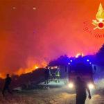 Incendi boschivi, in Calabria 65 interventi nelle ultime 12 ore