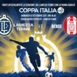 Lamezia Terme e Rende, prima partita di Coppa Italia solidale a favore di Caritas